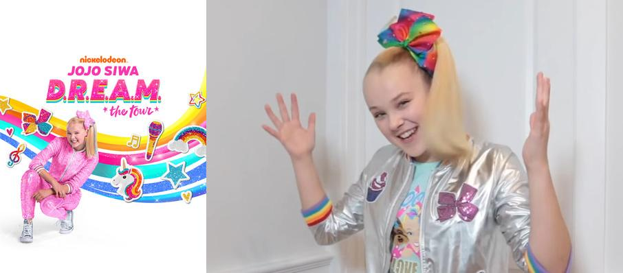 Jojo Siwa at John Paul Jones Arena